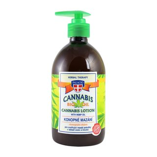 Cannabis Massage Gel with Pump 500ml