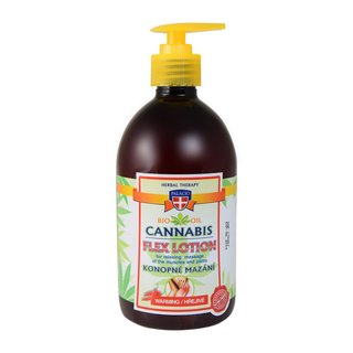 Cannabis Massage Gel with Pump Warming 500ml