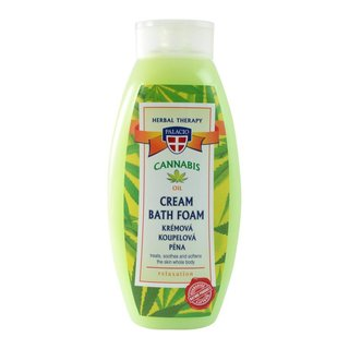 Cannabis Foam Bath 2% Organic Hempseed Oil 500ml