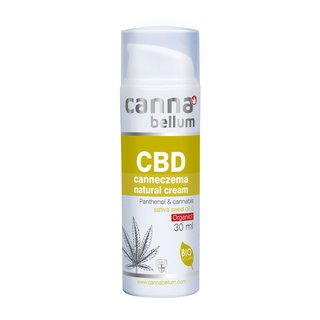 Cannabellum CBD canneczema natural cream 30ml