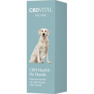 CBD Vital CBD Hempoil for dogs